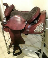 Blue Ridge Western Saddle 15.5 inch  Very Good condition