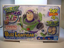 BUZZ LIGHTYEAR FROM TOY STORY 4 SNAP TOGETHER PLASTIC FIGURE KIT BY BAN DAI