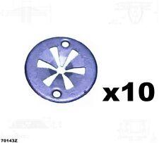 10 x Reparatursatz Montageblech Unterfahrschutz Clips  Audi  70143Z