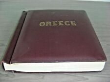 GREECE, lg & sm Hermes Heads, Wonderful Stamp Collection hinged in a Schaubek al