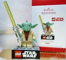 HALLMARK 2013 Yoda Star Wars Lego Christmas Ornament New in Box
