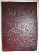 Vintage 1946 Beaver Falls High School TIGER Yearbook - Pa