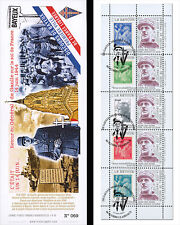 "DG13-4T3 Booklet ""69 years Come back DE GAULLE - Fight as an ally / WWII"" 2013"