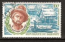 Dahomey # C119 Used Walt Whitman American Poet