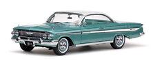 1961 Chevy Impala ARBOR GREEN Hardtop 1:18 SunStar 2105
