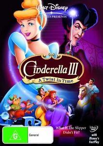 Disney Cinderella III - A Twist In Time (DVD 2012)