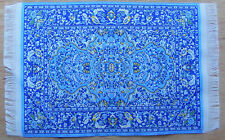 Escala 1:12 25cm X 17cm alfombra turca de tejido muñeca casa miniatura Alfombra P10L