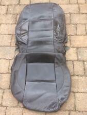 Fiat Barchetta R/H or L/H Black Leather Seat Cover 1995-2005