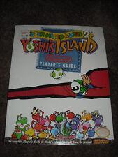 Super Mario World 2 Yoshi's Island Nintendo Player's Strategy Guide SNES