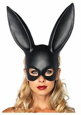 Black Halloween Cosplay Easter Bar Ball Masquerade Bunny Rabbit Face Mask