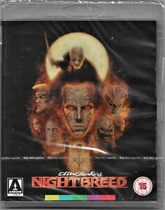 Clive Barker's: Nightbreed Blu Ray Region B Includes Registered Post