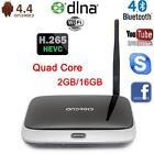 CS918T Quad Core Android 4.4 Smart TV BOX HD Media Player 2GB 16GB WIFI 1080P EU