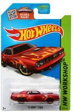 2015 Hot Wheels #210 HW Workshop Heat Fleet '71 Hemi 'Cuda red