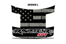 Ford Raptor F150 SVT Truck Full Hood Wrap Graphic Sticker Decal 09-16 SUBDUED
