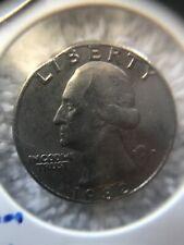 1982 D Washington Quarter - Clipped Planchet