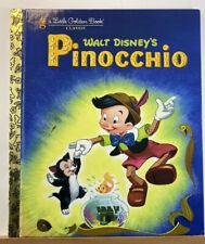 Little Golden Book: Walt Disney's Pinocchio Children's Classic Book