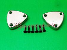 Fit Camaro/Firebird Billet Aluminum Sun Visor Delete Plate Brackets (Pair)