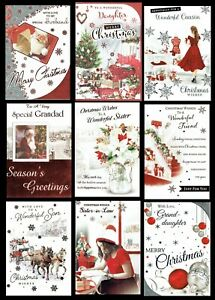 QUALITY CHRISTMAS CARDS ~ ONLY 99p Each Card ~ SOMETHING FOR EVERYONE