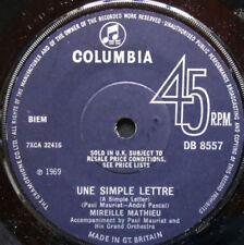 Vinyles Mireille Mathieu chanson française 45 tours