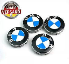 4x BMW Nabendeckel 68mm Nabenkappen Felgenkappen E60 E66 E70 E83 E90 F10 F30 NEU