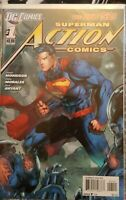 SUPERMAN ACTION COMICS #1 JIM LEE Variant Cover Rare! The New 52