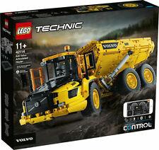 Lego Technic: Le tombereau articulé Volvo 6x6 (42114)