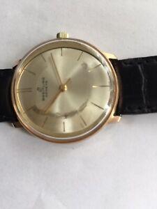 Vintage Breitling Geneve Handaufzug Herrenuhr