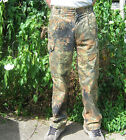 German Army Flecktarn Camo Camoflauge Field Combat Trousers Military Surplus