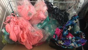 Joblot Of Bikini Tops/Bottoms X 40 Mixed Sizes And Colours