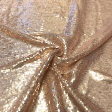 "All-Over Micro Sequins Starlight on Stretch Mesh Fabric 54"" wide sold BTY"