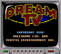 Dream T.V. Super Nintendo Snes Cleaned & Tested Authentic