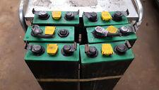 More details for 12v (6x2 volt) forklift wet lead acid battery cells off grid/solar/traction