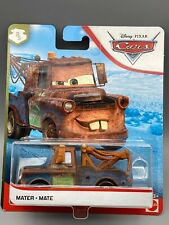 Disney Pixar Cars - Mater - Mate - 2019  New release - New Look Card FULL METAL