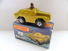 Matchbox Superfast 28b Stoat Military Vehicle - Gold - Mint/Boxed