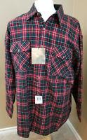 Claybrooke Outdoors Long Sleeve Flannel Shirt Size XXL 2X NWT