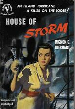 Mignon G Eberhart / House of Storm First Edition 1951