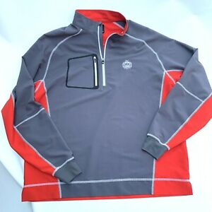 FootJoy Technical Golf Jacket Mens Size Large Red