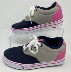 """HEELYS Shoes Sneakers with a wheel Youth Size 5 Women's Size 6 """"Worn Once"""""""