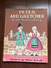 Peter And Gretchen ~ Viola M. Jones ~ 1St Edition ~ Hbdj ~ 1935 ~ Bavaria