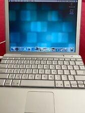 """Apple PowerBook G4 867 12.1"""" 40Gb Hdd - model A1010"""