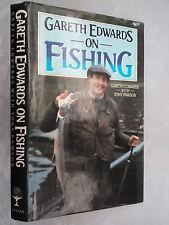 Gareth Edwards.Tony Pawson On Fishing.1St/1 H/B 1984.B/W Photos