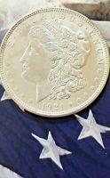 1921-P Morgan Silver Dollar AU condition 90% Silver Dollar Philadelphia US Mint