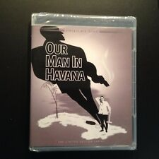 Our Man In Havana Blu-ray, Twilight Time, Director Carol Reed, Sir Alec Guinness