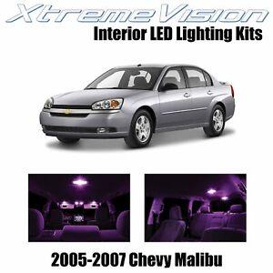 XtremeVision Interior LED for Chevy Malibu 2005-2007 (6 PCS) Pink