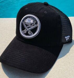 Buffalo Sabres Fanatics Branded Core Primary Logo Trucker Snapback Hat - Black
