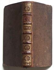 Le DIABLE BOITEUX 1728 tome II Lesage 6 gravures de Dubercelle TBE rel. d'époque