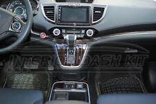 HONDA CRV CR-V SE LX EX EX-L INTERIOR BURL WOOD DASH TRIM KIT SET 2012 2013 2014