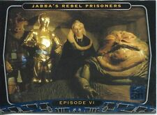 Star Wars 30th Anniversary Blue Foil Stamped Parallel Base Card #28
