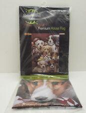 "Briarwood Lane Premium House Flag ""Puppy Pals"" 28x40"" Large Fade-Resistant Decor"