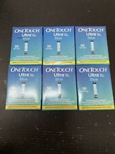 One touch Ultra Retail test strips. 300 Strips